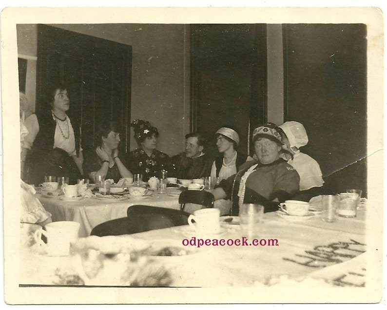 Vintage Halloween costume party gypsy wizard star photo image 0