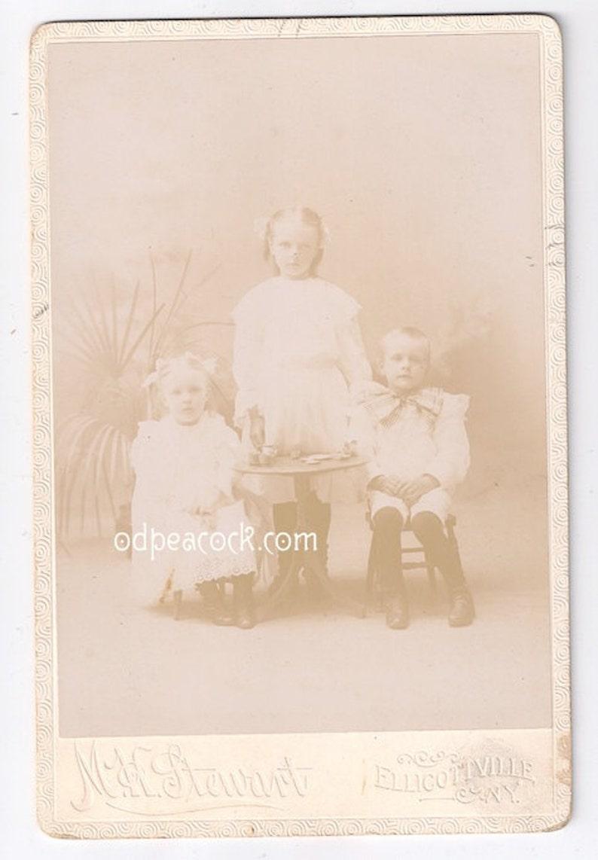 Victorian tea party cabinet photo wonderland children image 0