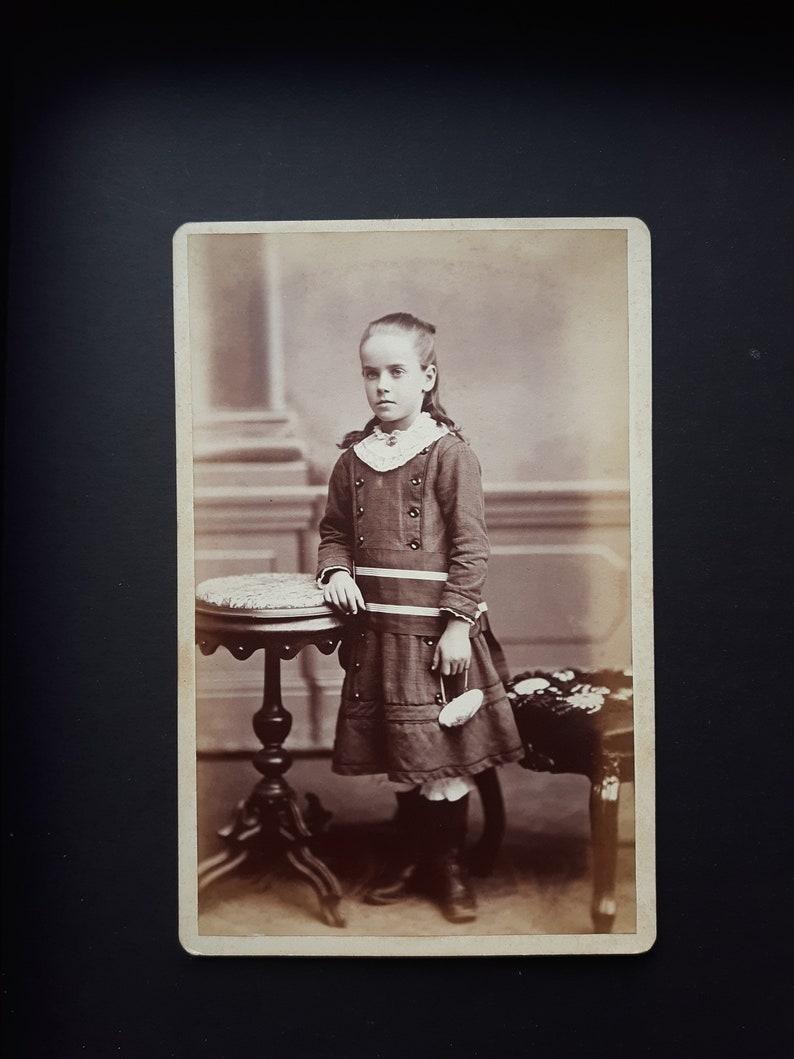 Identified Victorian girl Mary McBride Stirling Wilmington DE image 0