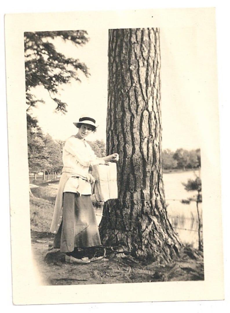 Maple sugaring photo antique New Hampshire image 20s 30s image 0
