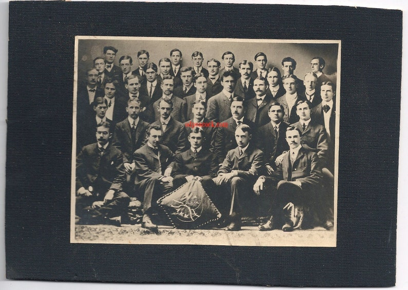 University Vermont medical fraternity doctor Victorian antique image 0