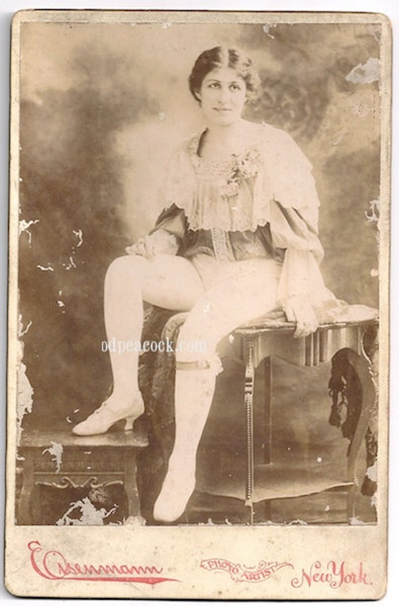 Eisenmann actress nyc circus oddity Bowery Victorian photo image 0