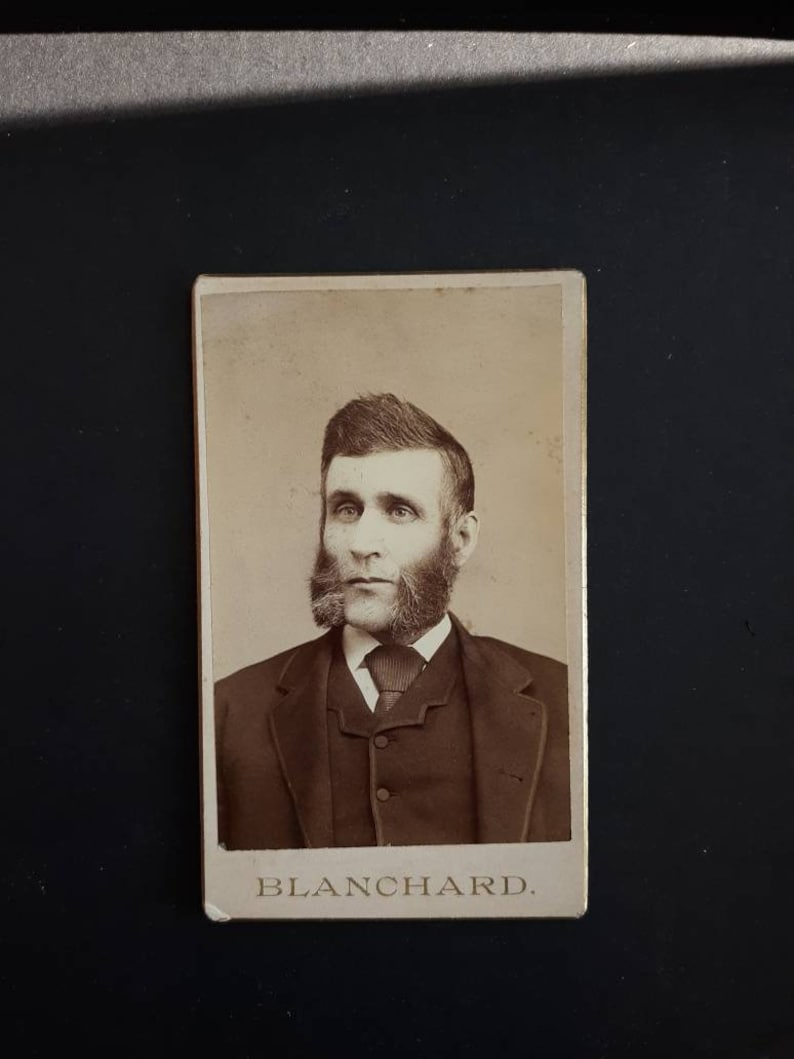 Wolverine beard facial hair ridiculous Blanchard cdv statement image 0