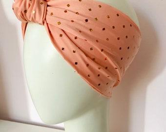 Princess Peach Mermaid Knotti Headband Turbie