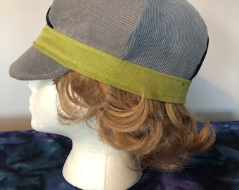 7bde800fbb5f49 NewsBoy Hat, News Boy Cap, All Patchwork corduroy hat,Newsboy Cap, Hippie  Hat, Festival Hat, Patchwork Hat, hippie cap,cabbie
