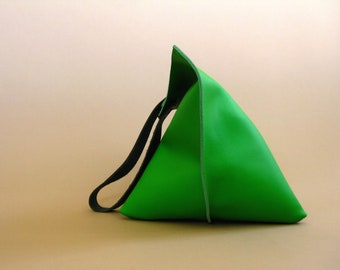 16in Wedge - Fresh Green Leather