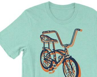 Gifts for Boyfriend, Vintage Bike Tshirt, Banana Bike, Bicycle T-Shirt, Bicycle Gift, 70s Bike Gift, for Cyclist, T-Shirt
