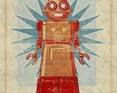 Doreen Box Art Robot Print 8x10