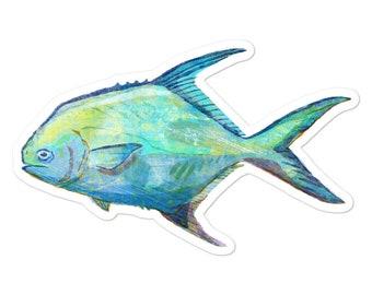 Permit fish | Etsy