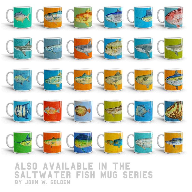 Beach Decor Gifts for Him Fish Gifts Sea Life Art Prints Fish Artwork 4 Medium Fish Pick 4 Fish Prints 4x11 Saltwater Fish Art