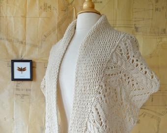 Ischnura Shawl Knitting Pattern PDF
