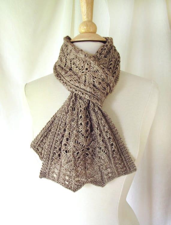 Skipperling Lace Scarf Knitting Pattern Pdf Etsy