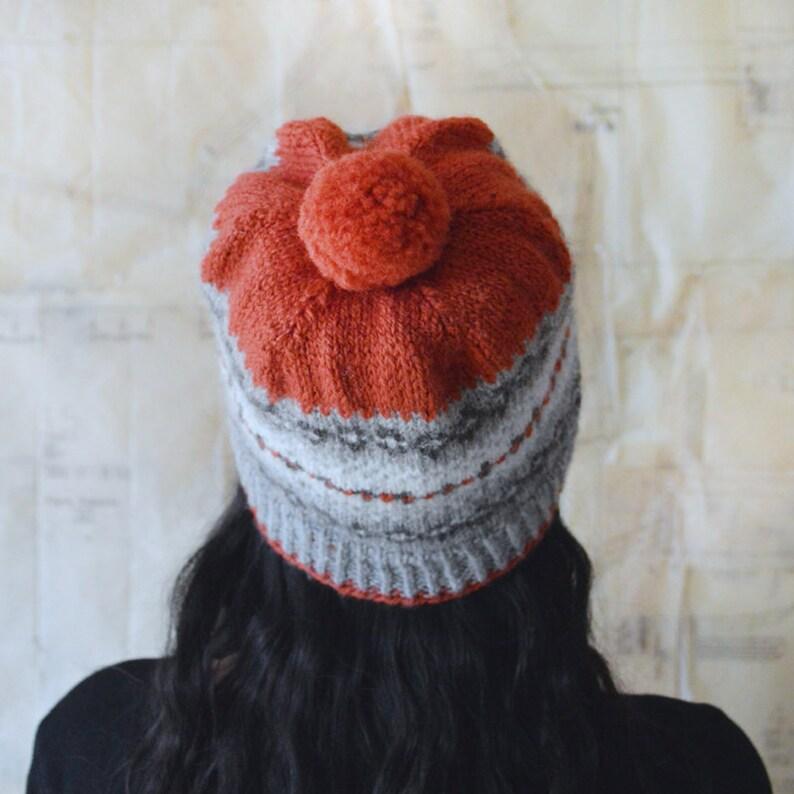 Downy Hat Knitting Pattern PDF