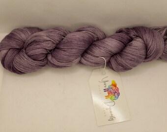 Antique Lavender - Wisp - Laceweight Yarn