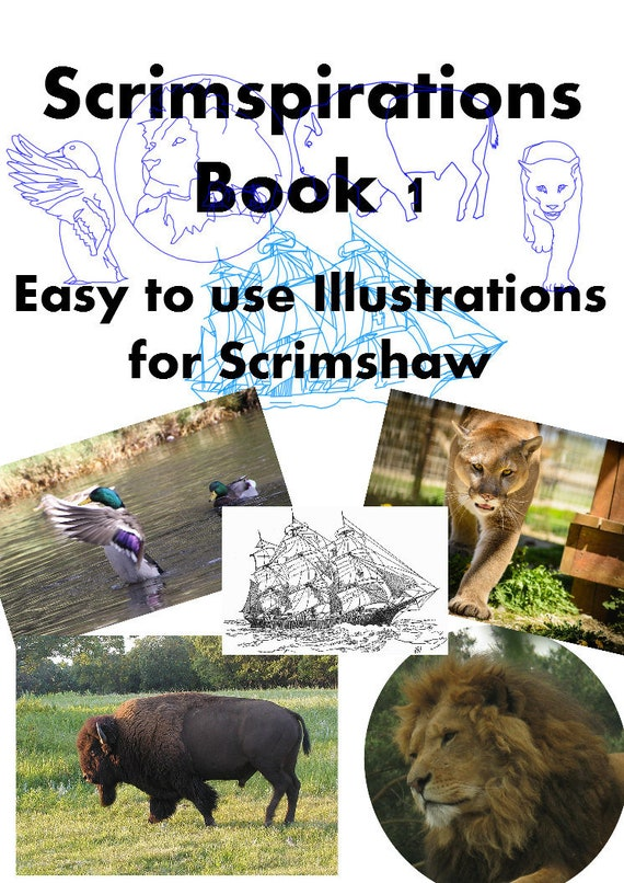 Scrimspirations Book 1 Scrimshaw Patterns Templates