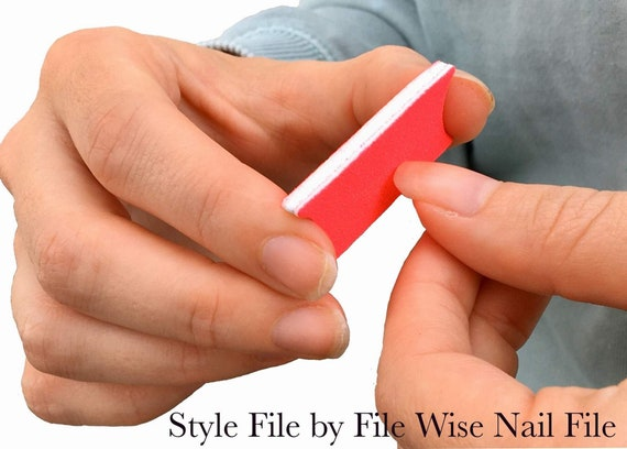 Style File Comfy Tye Dye Nail Files Original Design Files Manicure Wedding Shower Favor Bridesmaids Teen Girls Mini Nailfile DIY Nail Care