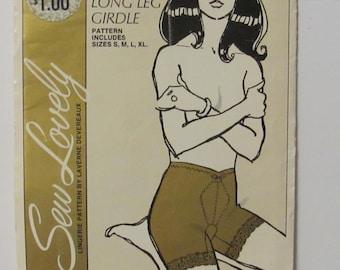 ce8867bc158 Sew Lovely Ladies  LongLeg Girdle Pattern G602