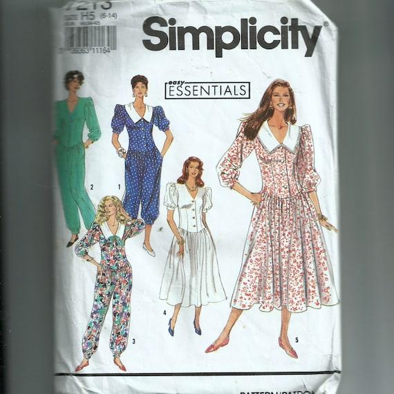 Mameluco vestido simplicidad señoritas en dos largos y vestido | Etsy