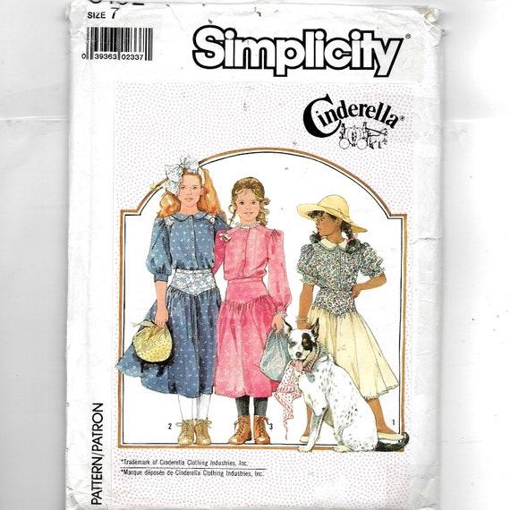 Einfachheit des Kindes zwei Stück Schnittmuster 8192 | Etsy