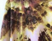 Hand Dyed Cotton Crew Neck Sweatshirt in Lichen, Anna Joyce, Portland, OR. Tie Dye