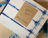 Ready to Ship Indigo Dye Kit, Tie Dye and Shibori,  Indigo Dye, DIY Kit, Anna Joyce, Portland, OR