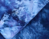 New Night Sky Hand Dyed Duvet Cover and Pillowcase, Tie Dye Sheets, Anna Joyce, Portland, OR