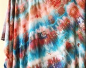 Ready to Ship, Hand Dyed Caftan in Sand and Sky,  Rayon Gauze, Anna Joyce, Portland, OR,