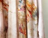 NEW Hand Dyed Kimono Robe in Phoenix, Tie Dyed Rayon Bathrobe, Anna Joyce, Portland, OR