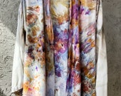 Hand Dyed Kimono Robe in Olana, Anna Joyce, Portland, OR.