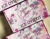 NEW Ice Dye Kit, Tie Dye and Shibori,  Fiber Reactive Dye, DIY Kit, Anna Joyce, Portland, OR