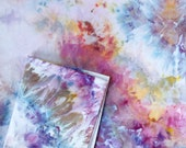 Sun Flare Hand Dyed Duvet Cover and Pillowcase, Tie Dye Sheets, Anna Joyce, Portland, OR