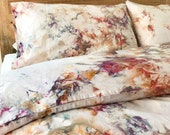 NEW Phoenix Hand Dyed Bedding, Tie Dye Bedding, Duvet Cover and Two Pillow Cases, Twin, Queen and King, Anna Joyce, Portland, OR
