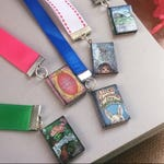 Ribbon Bookmarks– ribbon, book, bookmark, book lover gift, literary gifts, Jack and the Beanstalk, Alice in Wonderland, Red Riding Hood