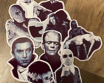 Classic monster sticker pack 2