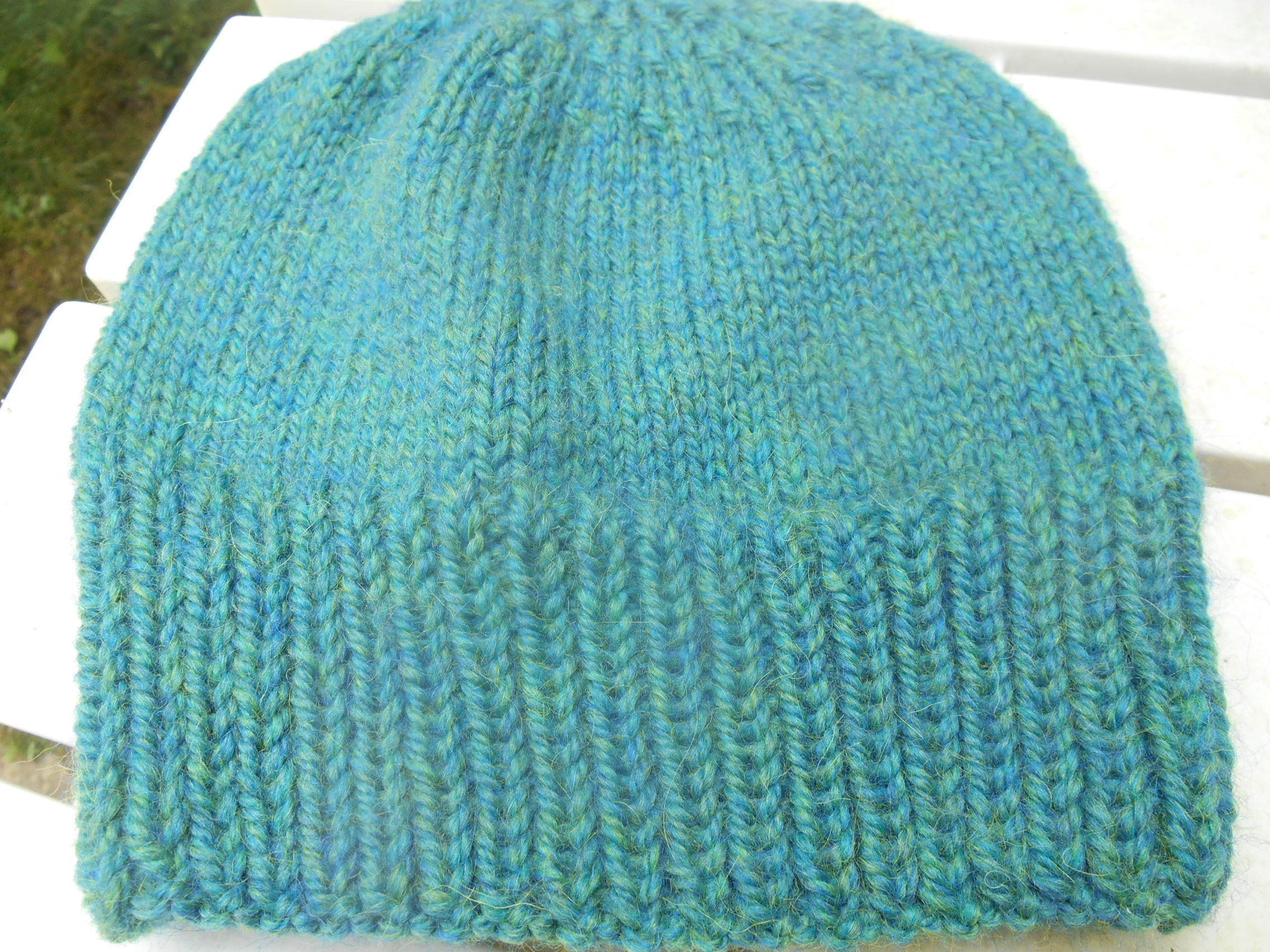 e1101d5f9c7 Hand knit Valley Yarns Becket alpaca wool watchcap cap hat