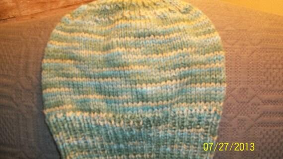 f057c7beb9b Handknit handpainted knitted classic watch cap knit ski hat