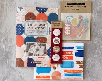 Stitch Your Family Story Bundle