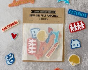 Felt Patch Set (Stitch Your Family Story)
