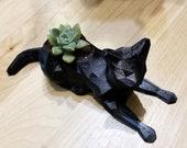 Cat 3D Printed Planter