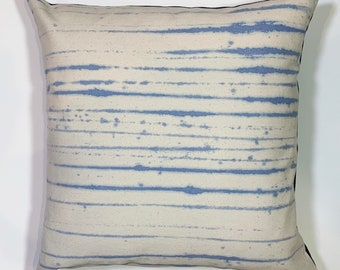 hand drawn nautical lines pillow cover