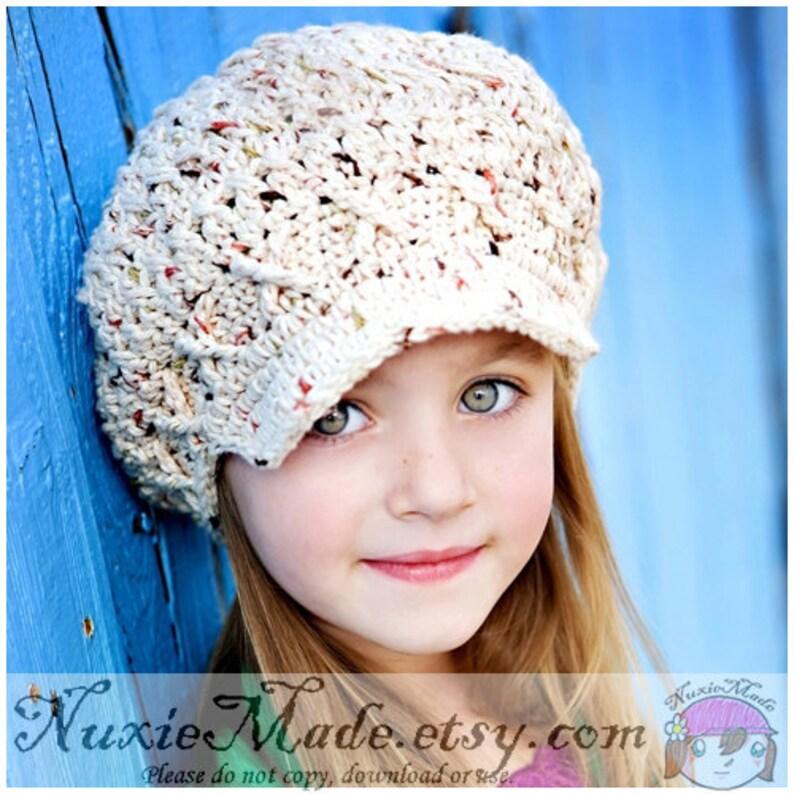 39ffb4fda Sonoma Winter Hat 2T-4T, Newsboy Hat, Oatmeal Crochet Hat, Kids Hat, Apple  Cap, Childrens hat, Photo Prop Hat, winter beanie, Fall Colors