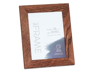 11x17 Picture Frame Reclaimed Wood Custom Color