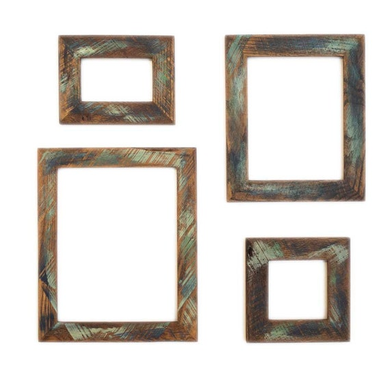 20x30 Picture Frame Reclaimed Wood Frame Custom Color Wood Etsy