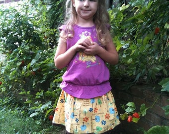 CUSTOM MaDe to ORDeR... I PRoMiSe to Keep the TReeS... HeaLTHy and BeauTiFuL... Simple EVERYDAY -SKiRT-