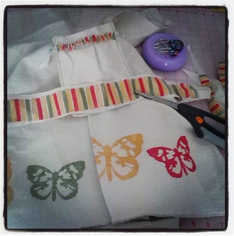 3 little FlutterBys... ECO-HiPPie-Kiddo HeMP BLooMeR image 0