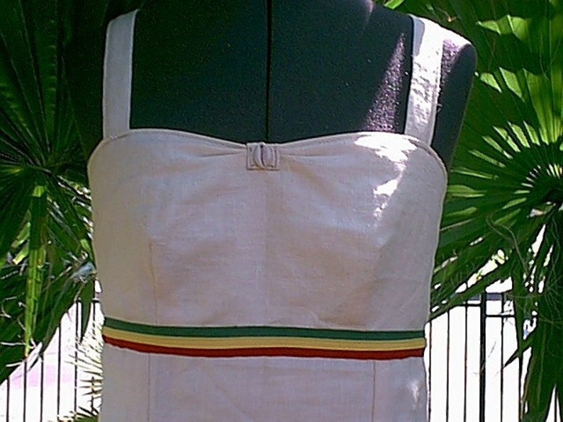 CUSTOM.... iRie-MaMa ..... HeMP-GoDDeSS RaSTa-QueeN DRESS image 0