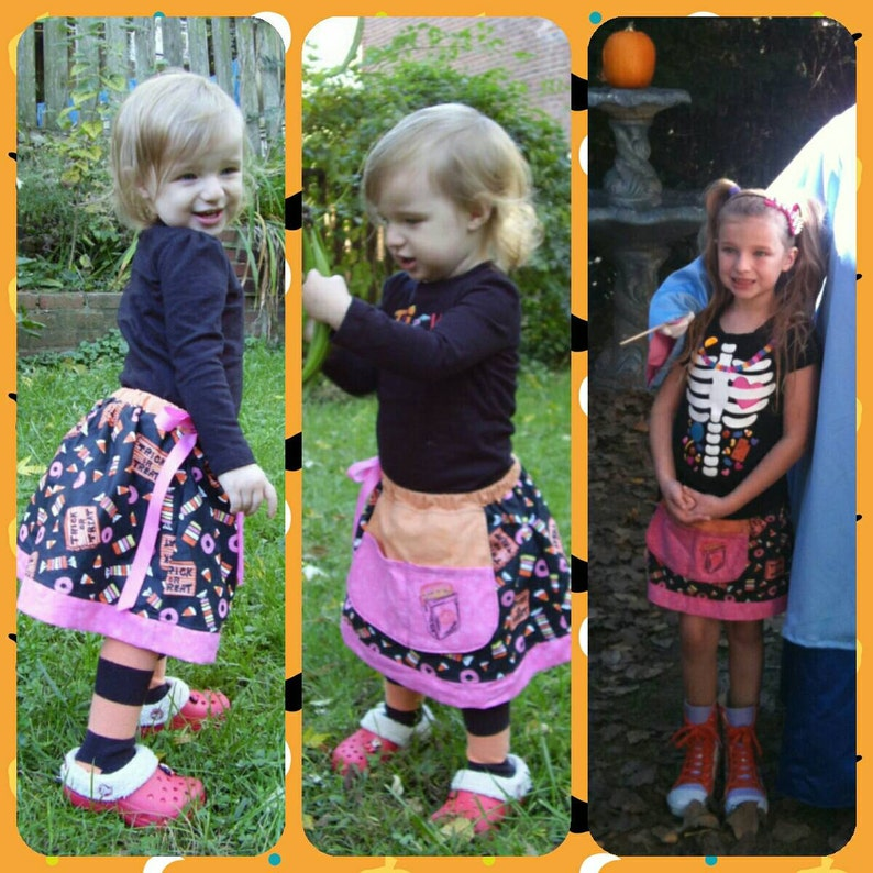 Made2Order... TRiCK-or-TReaT... HALLoWEEN APRoN-SKiRT... image 0