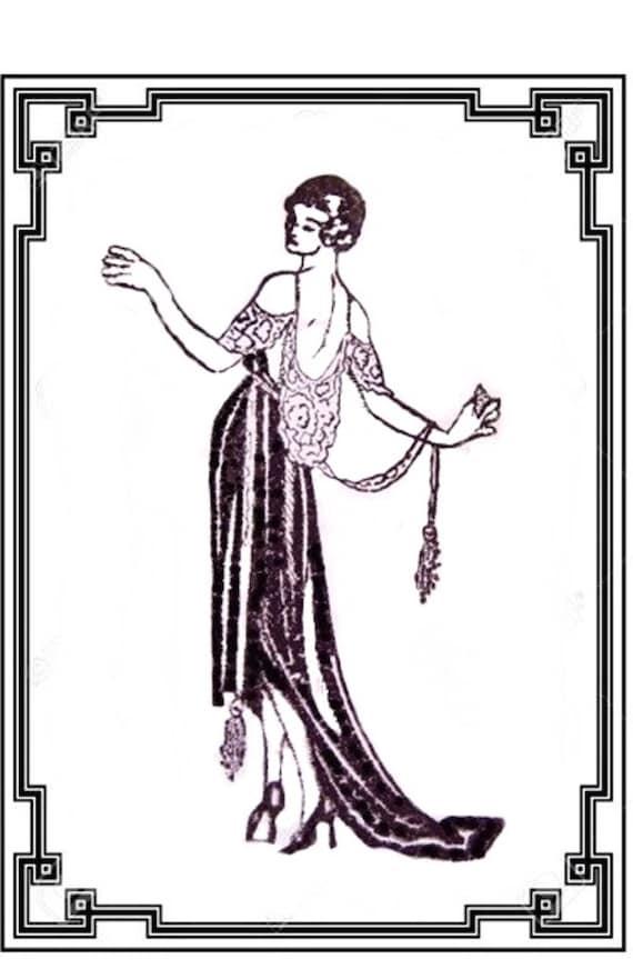 Wedding Favors Vintage Ladies Roaring 20/'s Flappers Roarin/' 20/'s Magnets Art Deco Party Favors