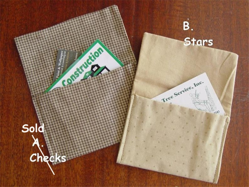 Credit Card Holders Father/'s Day Fabric Enveloope Gift Card Holders Business Cards Gift for Him