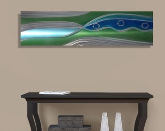 Green River Valley Modern Metal Wall Accent for Beautiful Home Decor - by Jon Allen